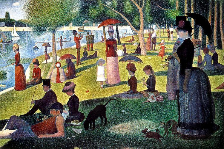 Georges Seurat, A Sunday oX La Grande Jatte, 1884